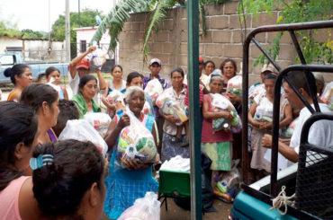 Evangelizadores apoyan a damnificados en Chiapas