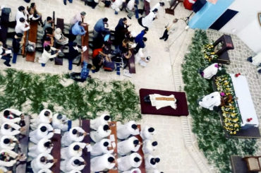 Hrtoghar el dia de su ordenacion fruto de su auténtica vocación de servicio