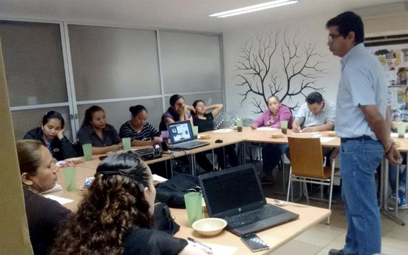 Grupo del curso Inovando la forma de evangelizar desde las empresas