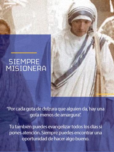 Modelo a seguir: Siempre misionera