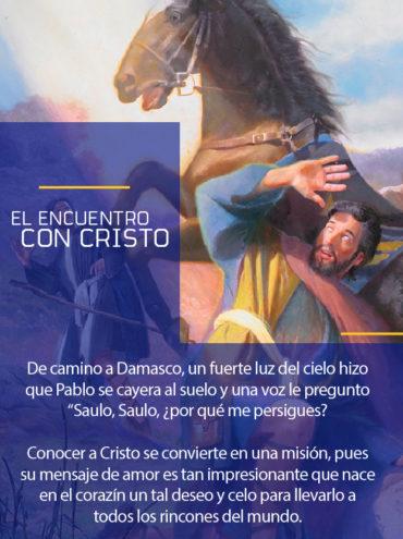 Modelo a seguir: El encuentro con cristo