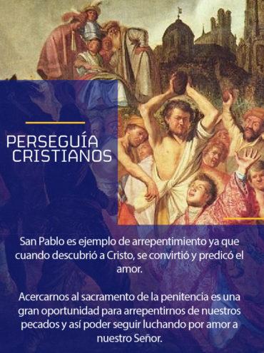 Modelo a seguir: Perseguía cristianos