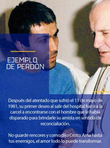 Modelo a seguir: ejemplo del perdón