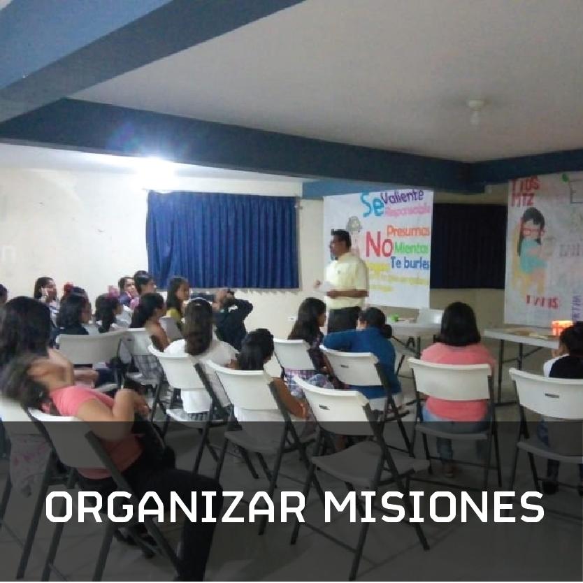 Quiénes somos organizamos misiones