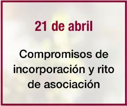 Nuestros eventos, 21 de abril