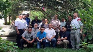 Reunión animadores de Guatemala y El Salvador.