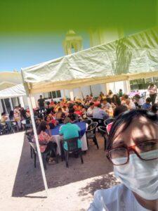 Convivencia con la comunidad en la Cuasiparroquia de La Santísima Trinidad