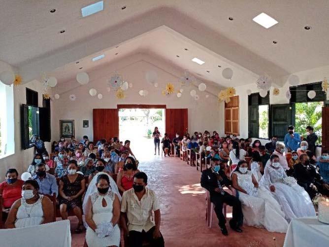 Recibiendo los sacramentos