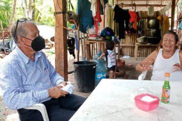 Visita a enfermos en comunidad San Isidro